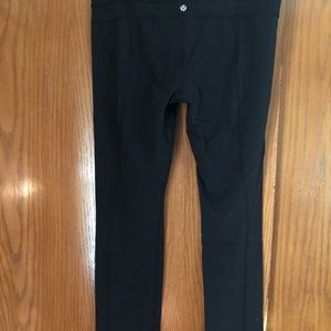 Lululemon straight leg reversible pant